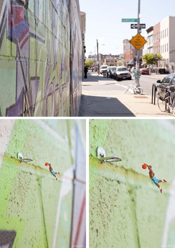 Slinkachu The Little People Project El proyecto de la gente pequeña