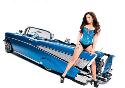 Sexy Women  on Sexy Girls And Classic Cars Pictures