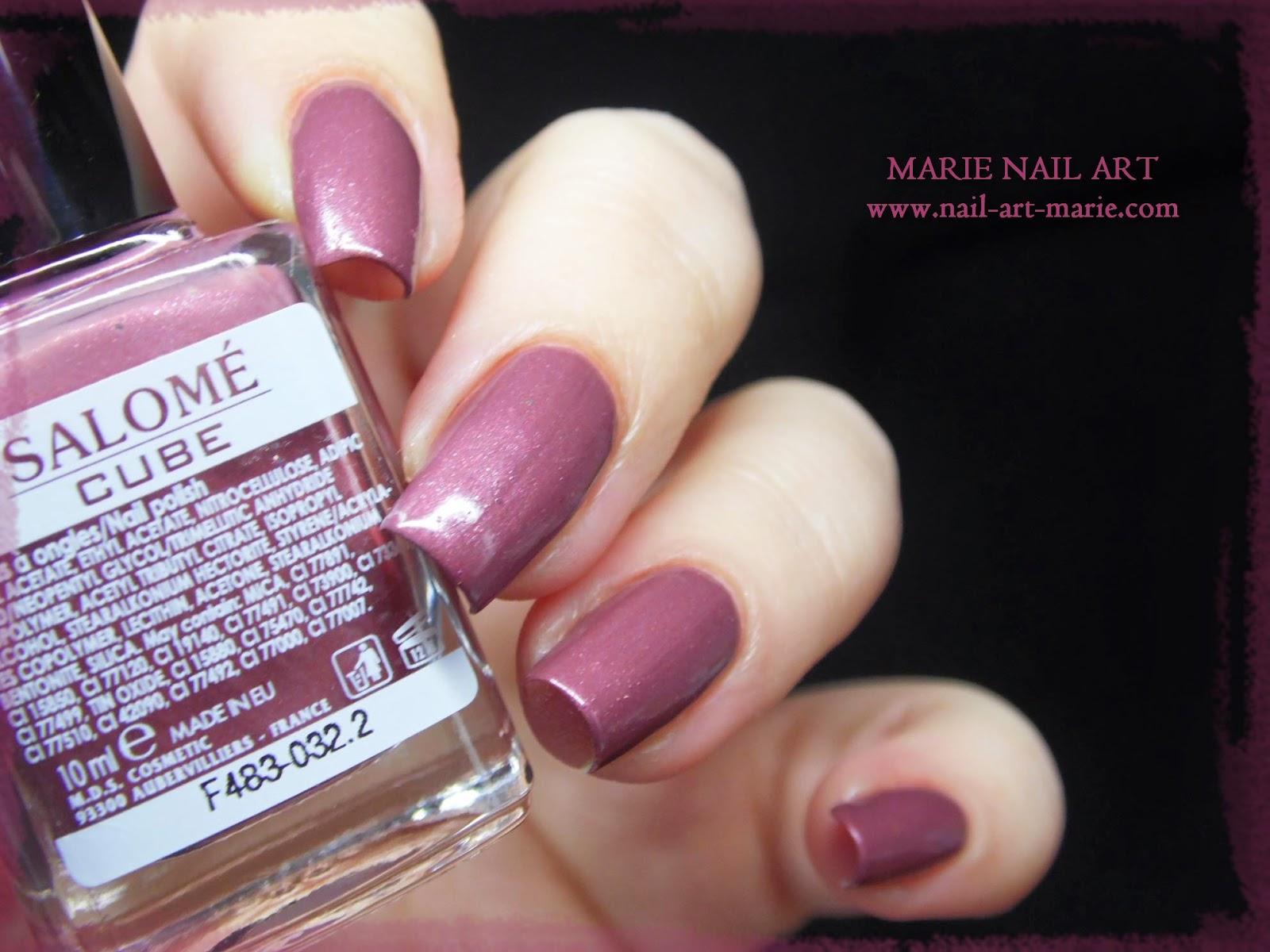 Salomé Cube Mauve9