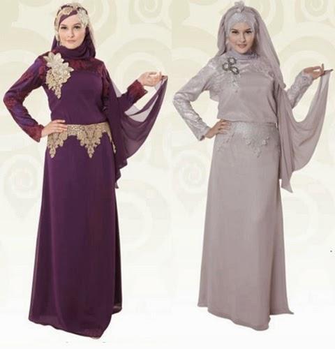 Gambar model baju gamis modern 2016 danitailor Baju gamis versi 2015
