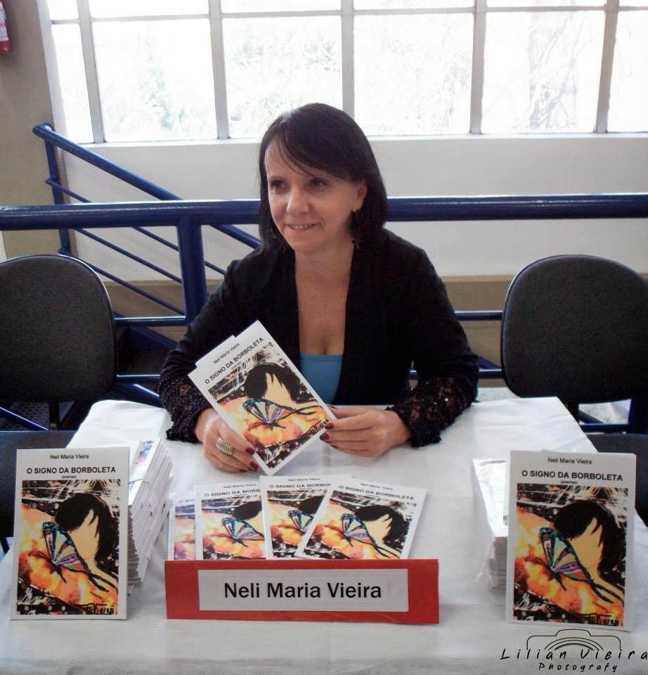 NELI MARIA VIEIRA (INI)  -  capista da revista Cabeça Ativa
