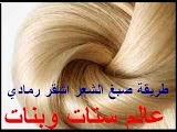 كيف اصبغ شعري بالبيت بالصور طريقة صبغ الشعر اشقر رمادي في البيت