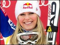 Copa do Mundo de esqui alpino lindsey vonn