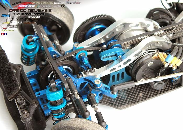 Yokomo YR-4 YR-4 GT Rear Damper Holder Made in Japan Tech Racing TYR-8R
