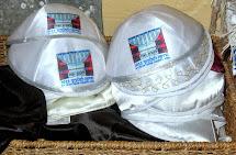 הכיפות שנתרמו כשי בבית הכנסת בעיר יאנינה , 6.10.2013