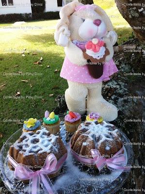 coelha minicake Páscoa da Confeitaria: Porque você é ESPECIAL!