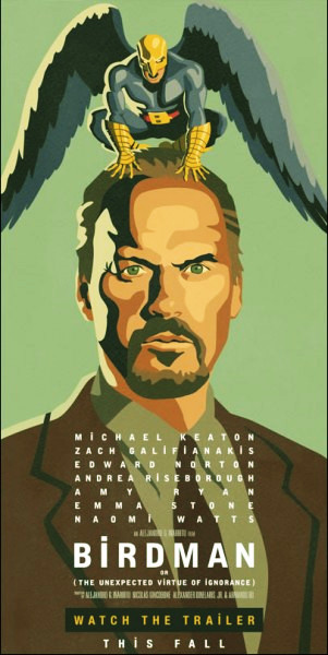 Birdman Movie Film - Sinopsis (Michael Keaton, Edward Norton, Emma Stone)