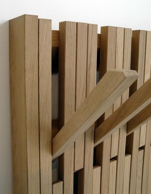design piano universal hanger una texture nell 39 ingresso di patrick seha per feld design. Black Bedroom Furniture Sets. Home Design Ideas