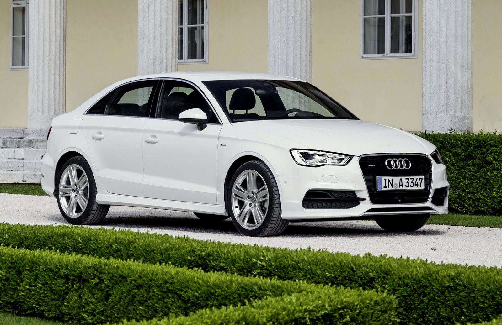 audi announces 2015 a3 sedan pricing and equipment w video. Black Bedroom Furniture Sets. Home Design Ideas