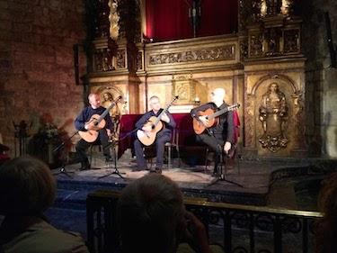 Chuck and Lori's Travel Blog - Spanish Guitar Concert