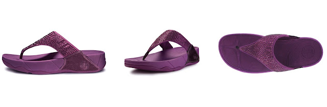 fitflop rokkit cosmic purple size 6