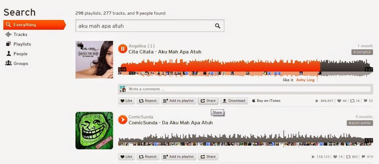 Cara Memasang Lagu di Blog Autoplay Melalui Via SoundCloud