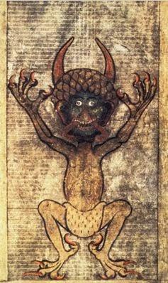 Diabo da página 290 do Codex Gigas