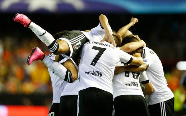 Hasil play-off liga champions 20 agustus 2015, Valencia 3-1 Monaco