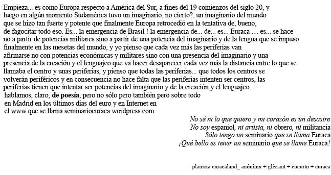http://seminarioeuraca.wordpress.com/2014/07/26/solo-tenemos-un-seminario-que-se-llama-euraca/