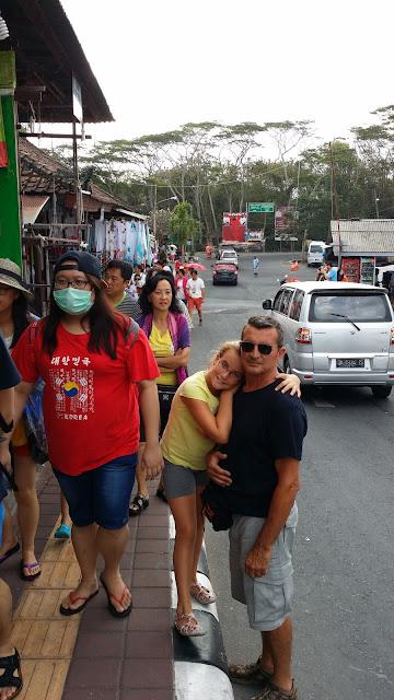 Zona comercial de Tanah Lot (Bali)