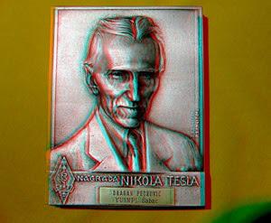 Moja nagrada 1976. srebrna plaketa SRJ  Nikola Tesla