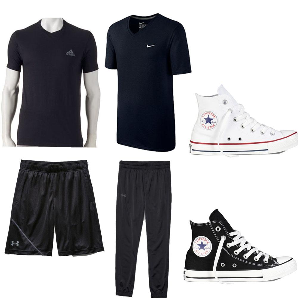 KissJessika Mens Workout Clothes