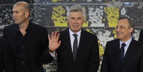 Ancelotti Tunjuk Zidane Sebagai Asisten