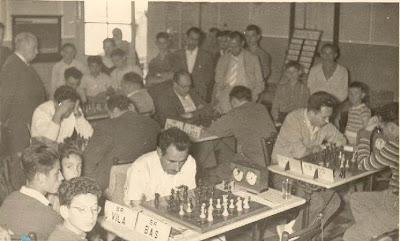 Partidas de la tercera ronda del III Torneo Nacional de Ajedrez de La Pobla de Lillet 1957