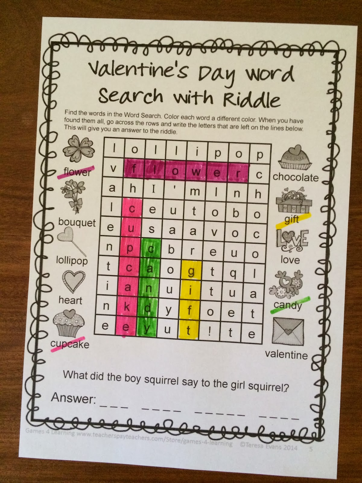 http://www.teacherspayteachers.com/Product/Valentines-Day-Literacy-Puzzles-and-Games-1092235