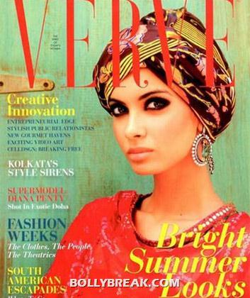 Diana Penty on Verve Magazine CoverPage - (2) - Diana Penty All Magazine CoverPage Scans