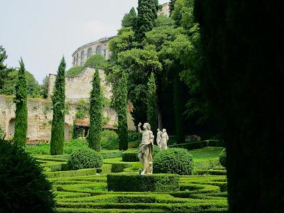 Италия. Верона. Парк Джусти Фото