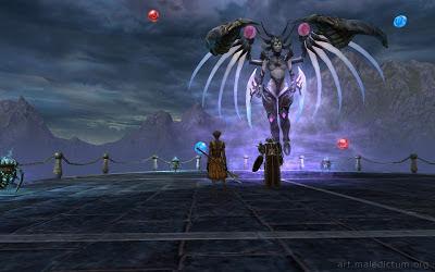 Rift - проявление крылатой демоницы
