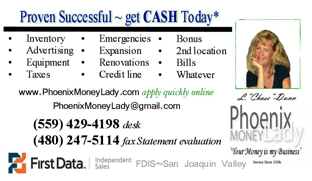 California Money Lady