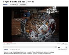 "video fotografico di Enzo Correnti ""Sogni di carta"""