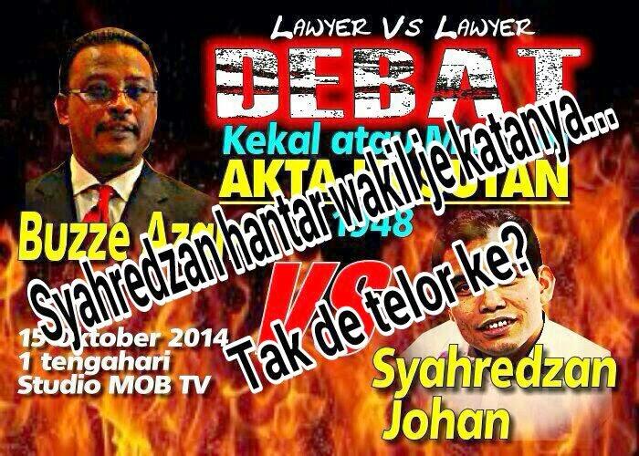 Anak Johan Jaafar takut berdebat Kata loyar liberal