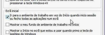 Como iniciar o Windows 8 no Ambiente de Trabalho