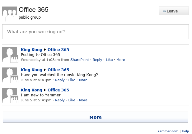 My technology space - Activate yammer office 365 ...