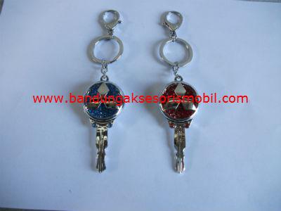 Gantungan Kunci Berlian Model Kunci Mitsubishi