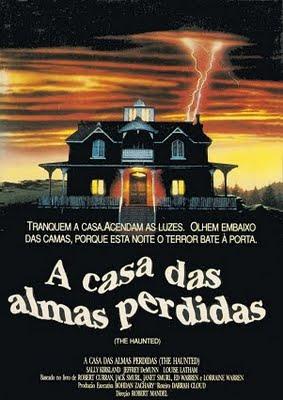 Filme Poster A Casa das Almas Perdidas VHSRip XviD & RMVB Dublado
