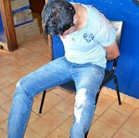 Alessandro foi preso tentando fugir para uma propriedade rural
