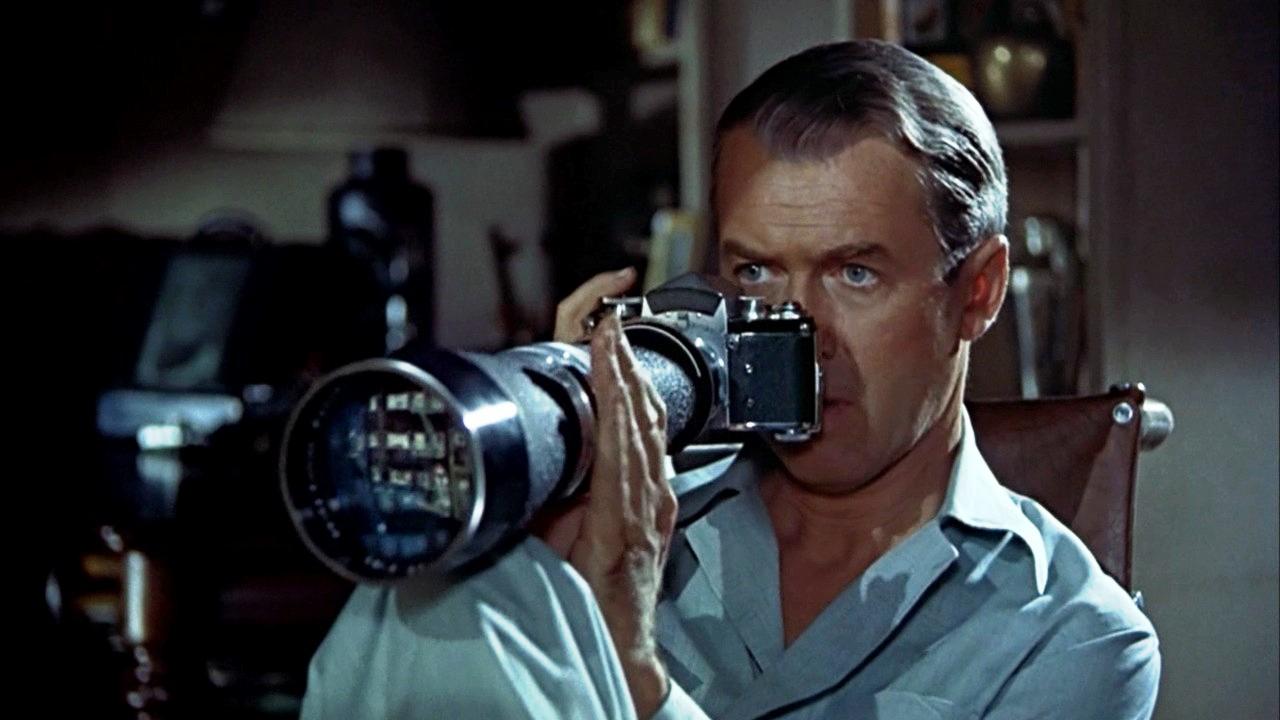 Escena de la película La ventana indiscreta