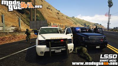 V - Mod LSSD SWAT para GTA V PC