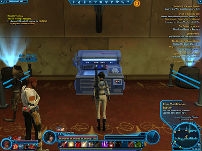 SWTOR - Item Modification Station