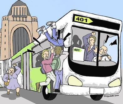 Movimiento por la calidad del transporte situaci n del - Servicio de transporte ...