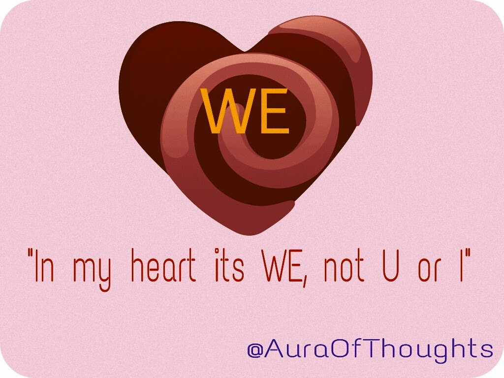 Aura of thoughts - Love is We