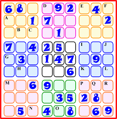 Sudoku 9x9, Sudoku Tradicional