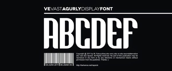 http://www.dafont.com/ve-vastagurly-display.font