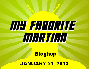 Join The Geek Twins My Favorite Martian Blog Hop