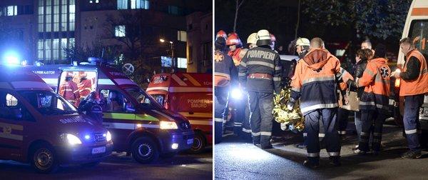 Explosão em boate de Bucareste, na Romênia deixa 25 mortos