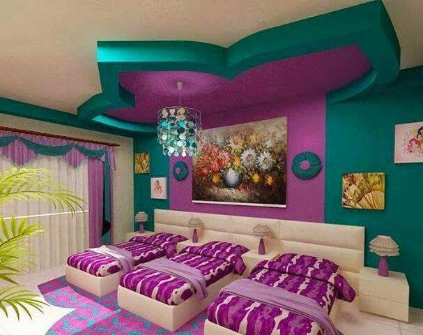 Decoration Ideas three Beds Rooms