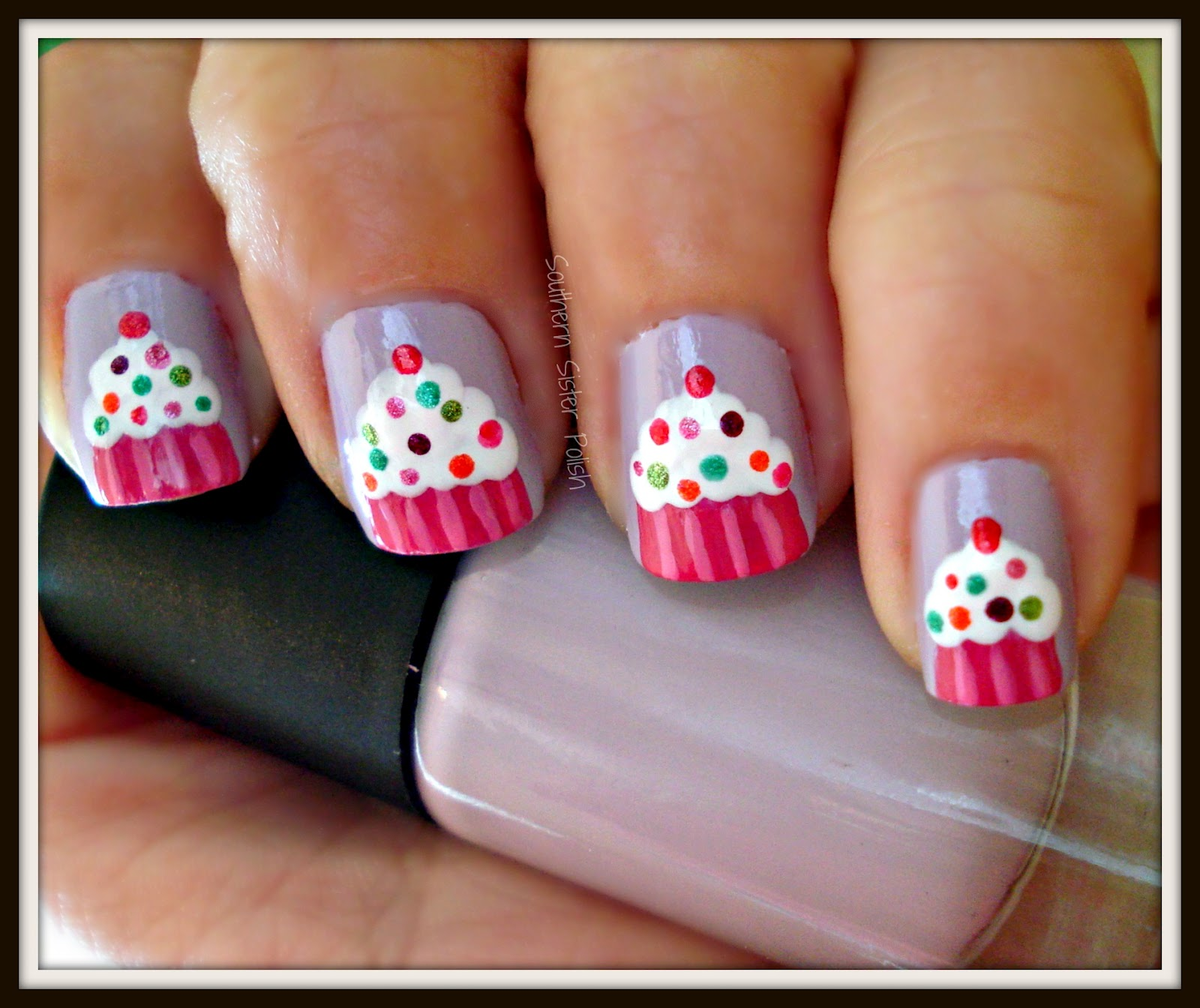 Southern sister polish nail art wednesday birthday cupcakes and since im another year older i wanted to share a little bit more about myself im 33 yrs old married with two kids im a georgia girl loving living prinsesfo Choice Image