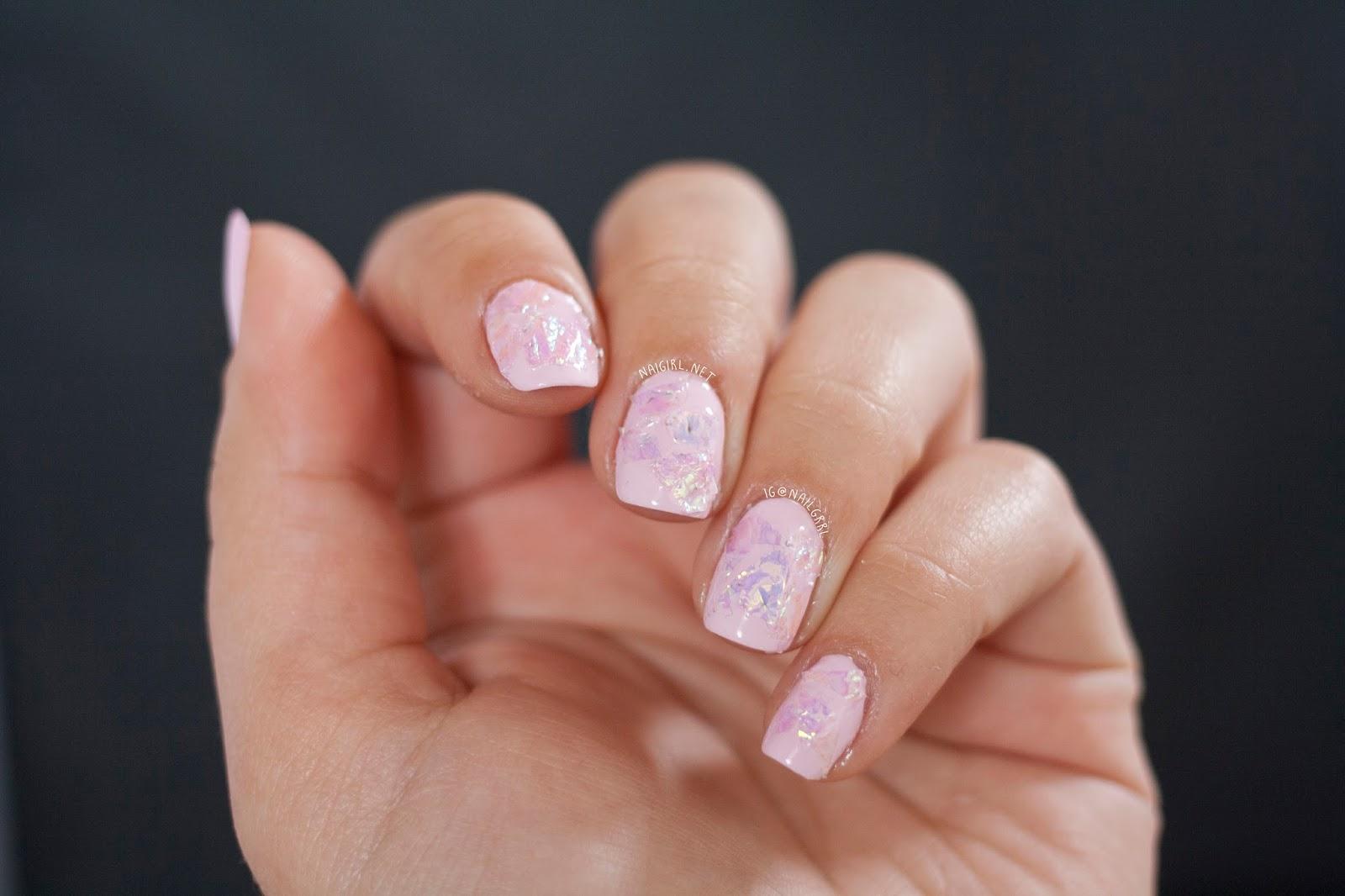 Nail Art Fail Broken Glass Nails Alexis Adrienne