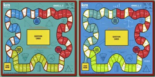 Math Board Games - Making Math Lessons Fun