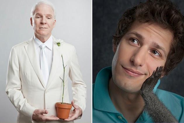 comic genius, portraits of funny people